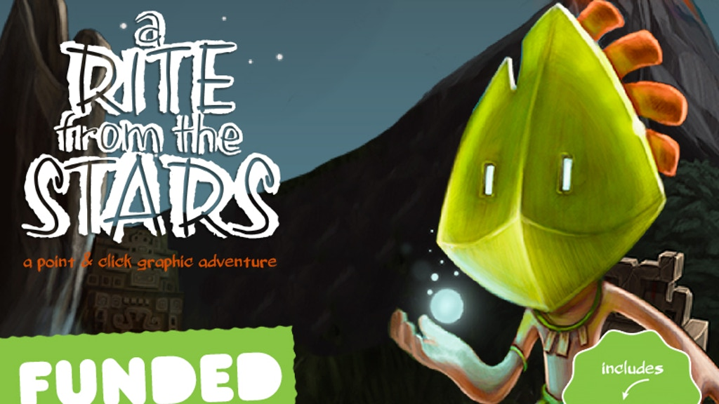 A Rite from the Stars: A mystical Graphic Adventure project video thumbnail