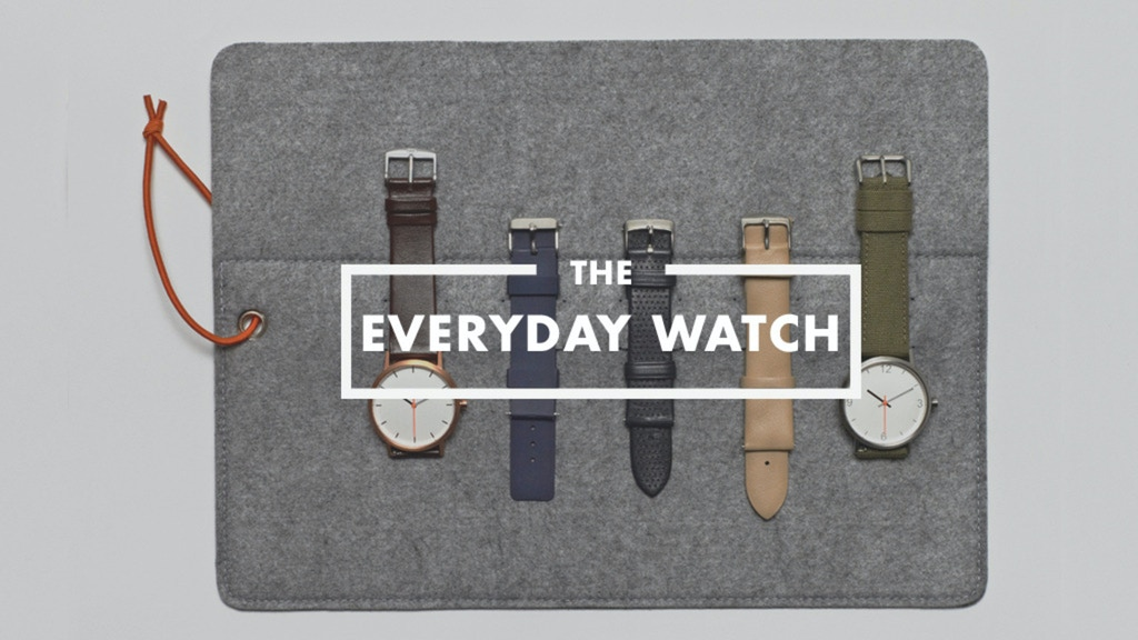 The Everyday Watch: A 10-in-1 Timepiece by MIJLO. project video thumbnail
