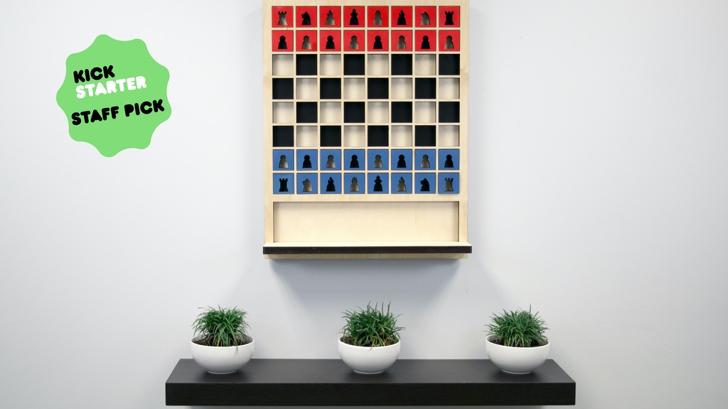 Mate: The Wall Hanging Chess Board project video thumbnail