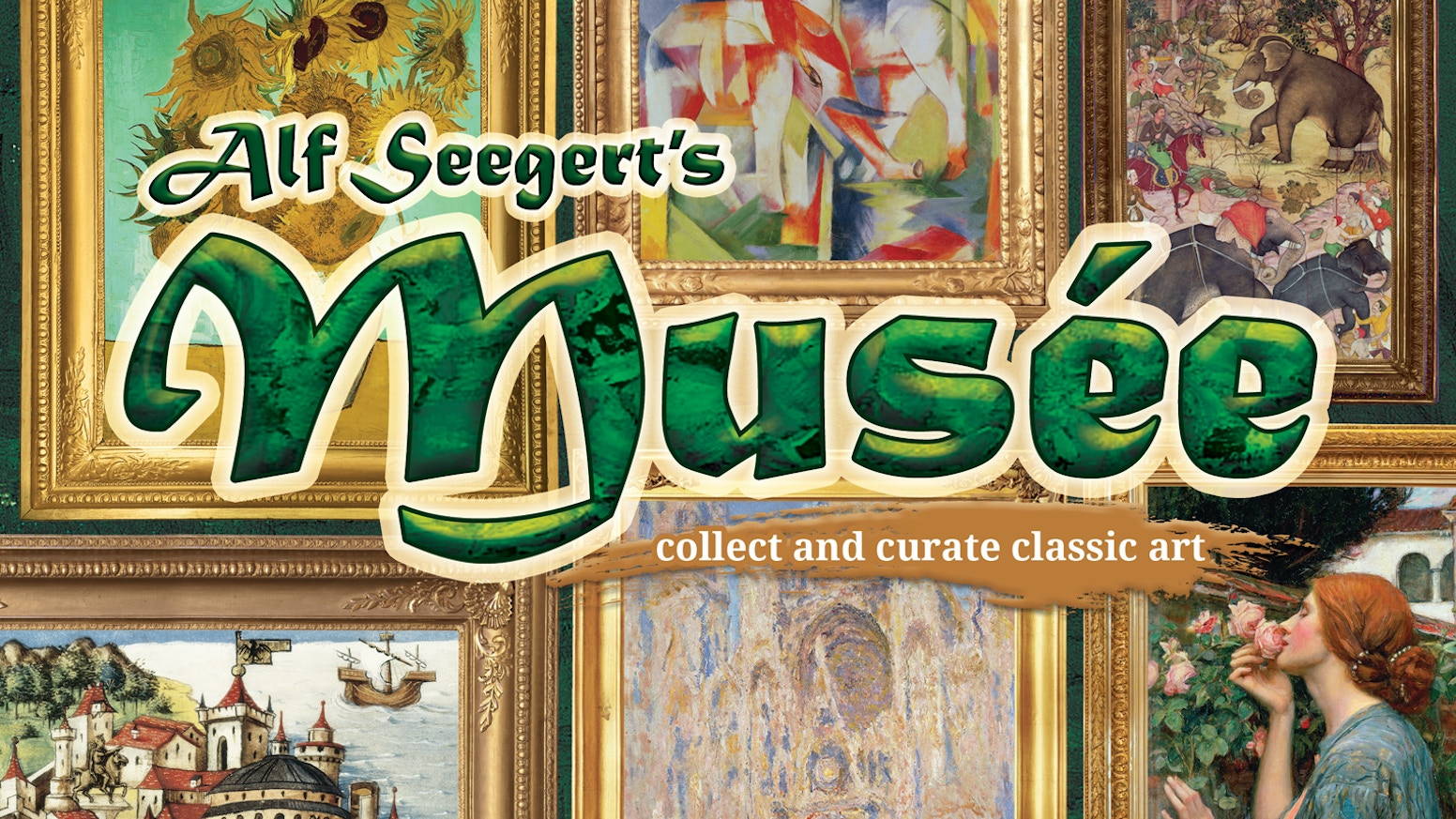 Musée is a 30 minute card laying game for 2-4 players. Collect and Curate! Score by filling up and carefully theming your art museum!