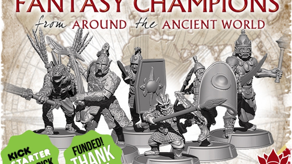 28mm Fantasy Champions from Around the Ancient World project video thumbnail