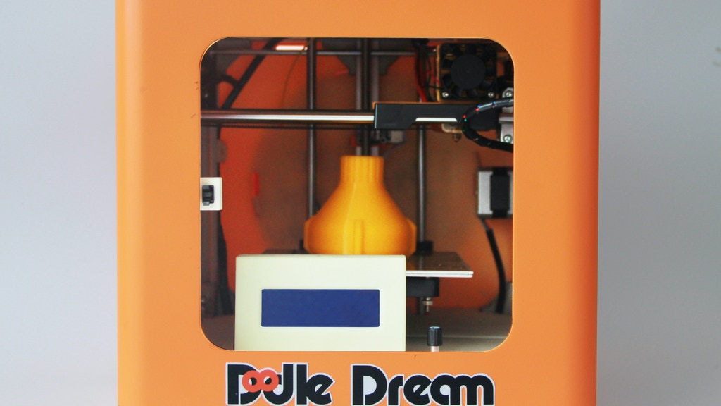 Project image for Doodle Dream: A aesthetic designed and affordable 3D printer