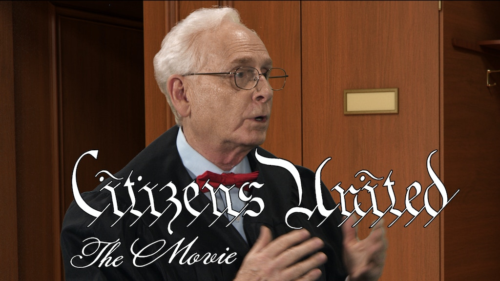 Citizens United, The Movie, Day 3 Shoot project video thumbnail