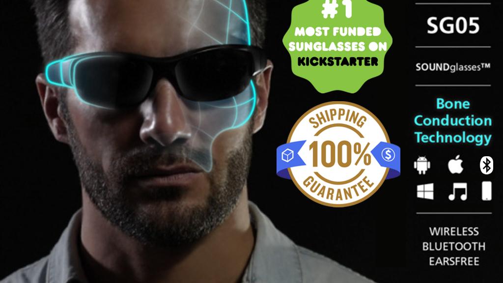 Buhel Tech Sunglasses + Headphones: No Earphones Or Wires! project video thumbnail