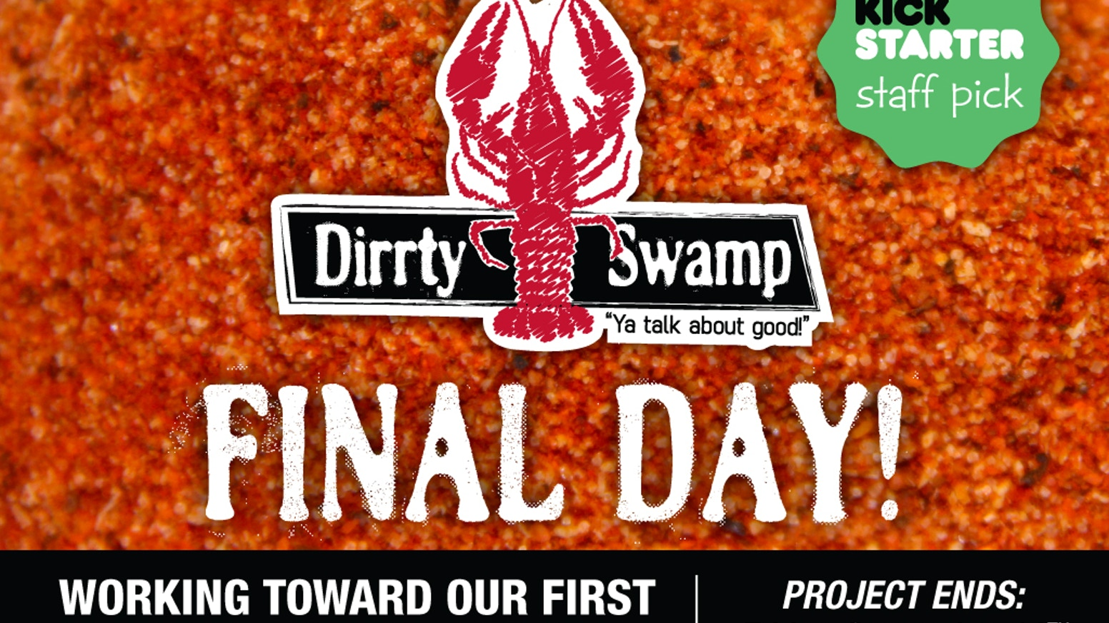 Dirrty Swamp creates genuine Creole seasonings & foods with the perfect balance of heat and flavor.