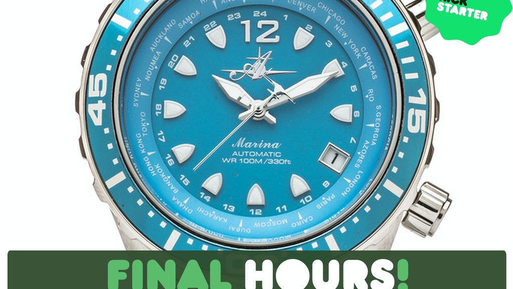 A Revolutionary Women's Dive Watch Designed by Women Divers project video thumbnail
