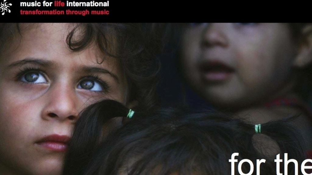 Music For The Children of Syria at Za'atari Refugee Camp project video thumbnail