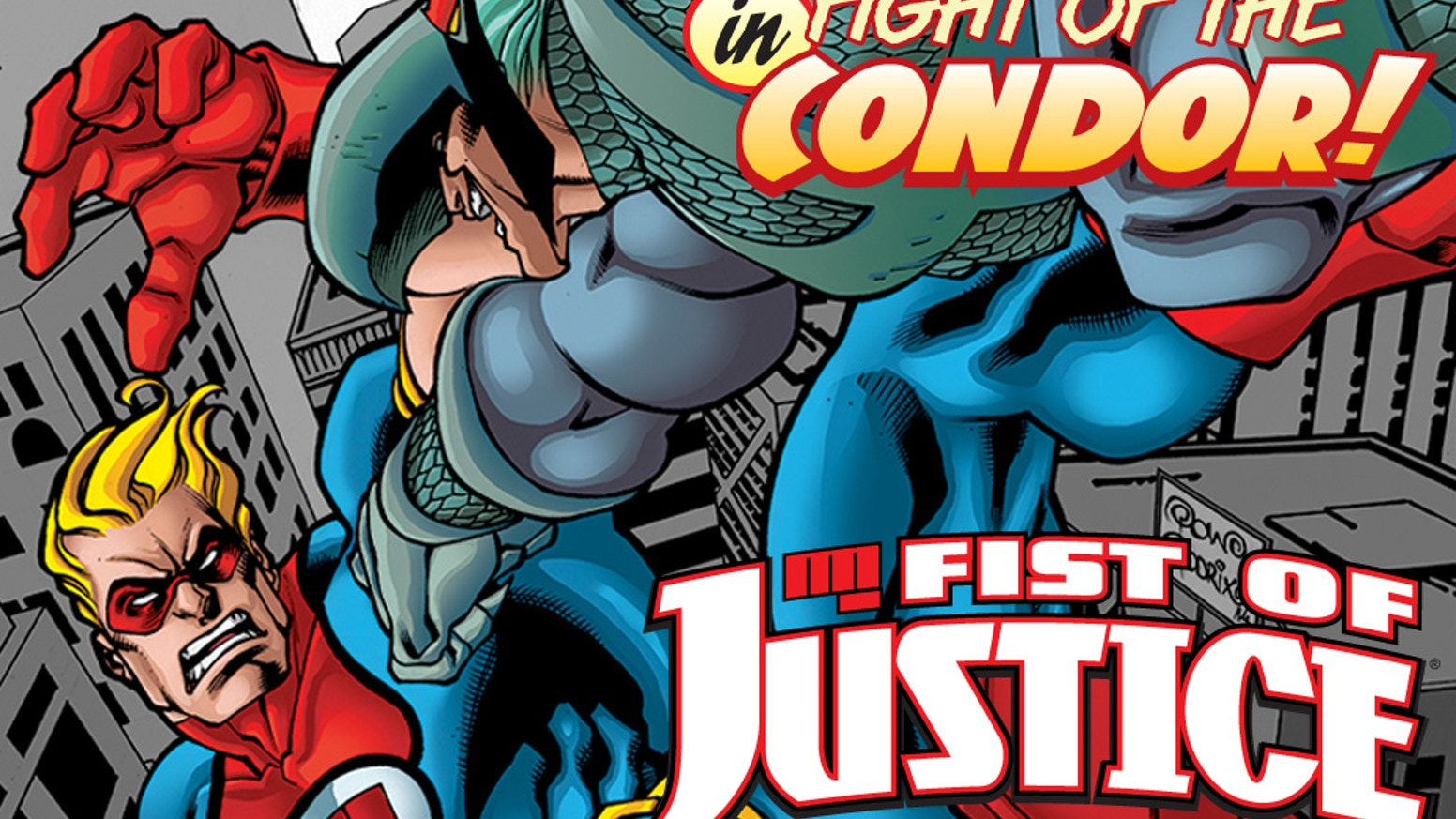 Fist of Justice was the Greatest Defender of Charm City in the 70s and now he's back. But things in the 21st Century are... different.