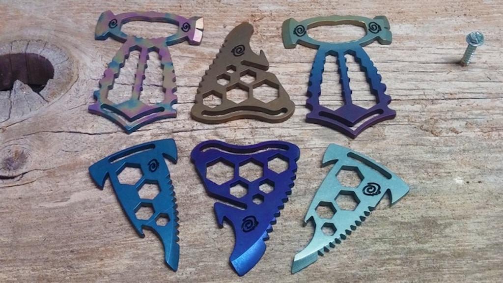 Titanium Sea Creature Inspired Multi-Tool Keychain project video thumbnail