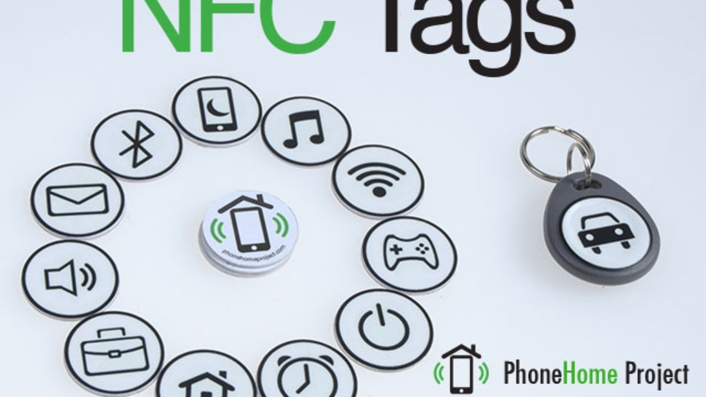 NFC Tag Stickers - Automate your Smartphone project video thumbnail