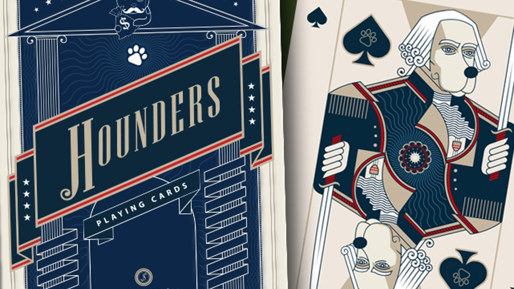 Project image for Hounders Playing Cards printed by EPCC