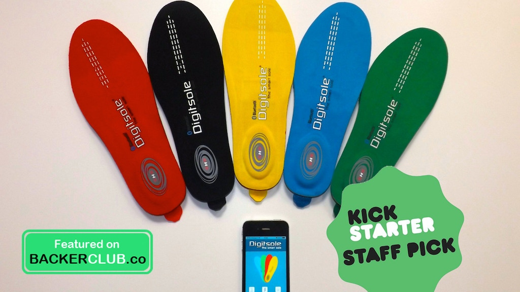Digitsole: The first interactive insole to heat your feet project video thumbnail