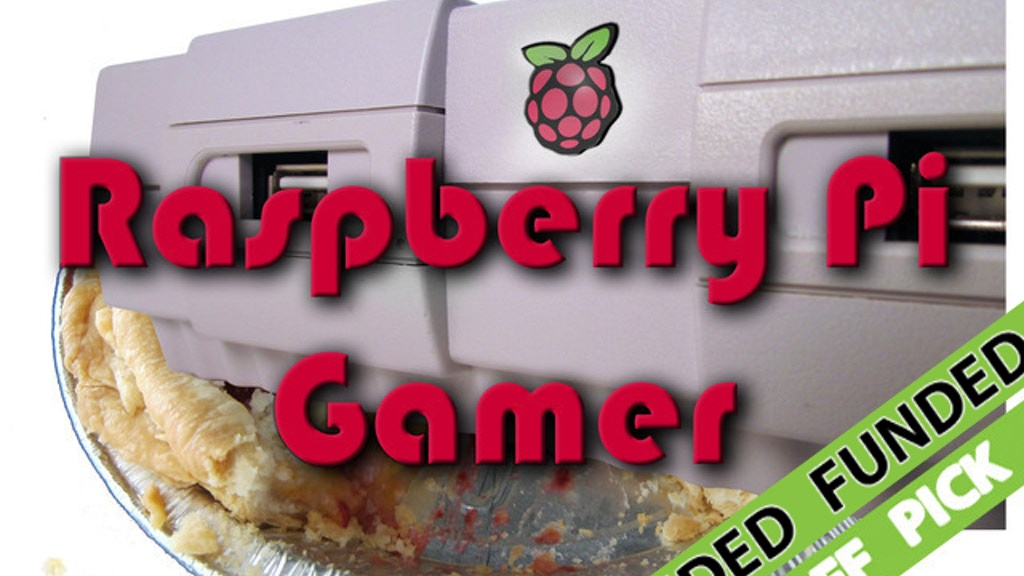 Raspberry Pi Gamer Console project video thumbnail