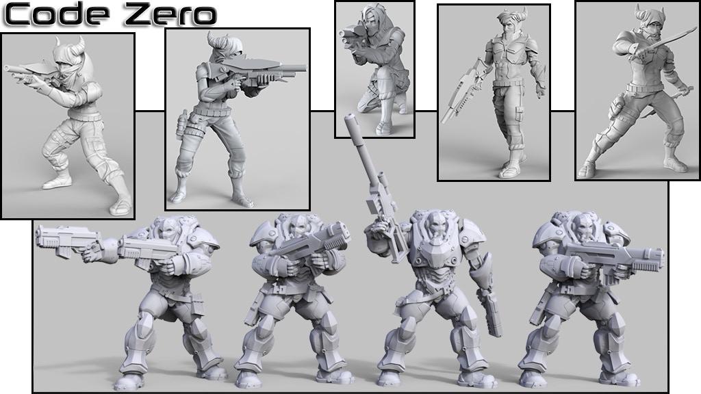 Project image for Code Zero - Anazi Dynasty (Canceled)