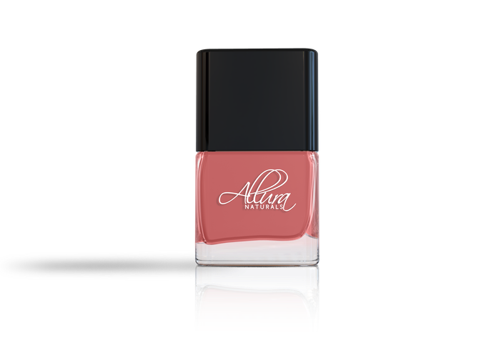 Allura naturals revolutionary new nail polish formula by for Rose under glass