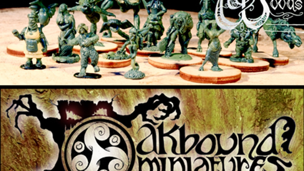 Folk from the Oakbound Woods 28mm Celtic roleplay miniatures project video thumbnail