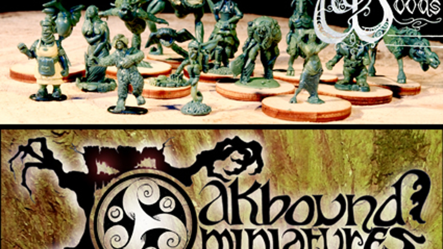 First in a rangeof quirky and characterful, old-school roleplaying figures accompanying Oakbound's The Woods, fully compatible with 28mm systems. One of every creature type in the world of The Woods.Missed out? Follow the link to the Oakbound shop...