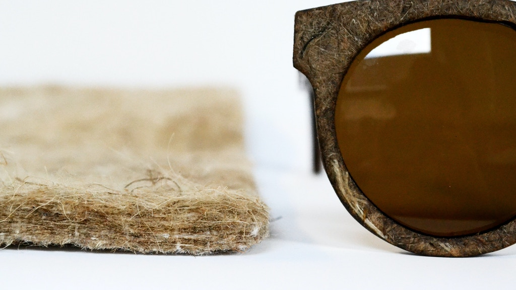 Hemp Eyewear - hemp fibre sunglasses project video thumbnail