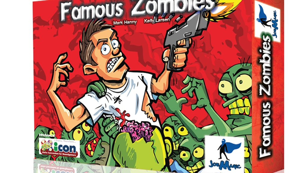 Famous Zombies!  The High Suspense & Strategy Game! project video thumbnail
