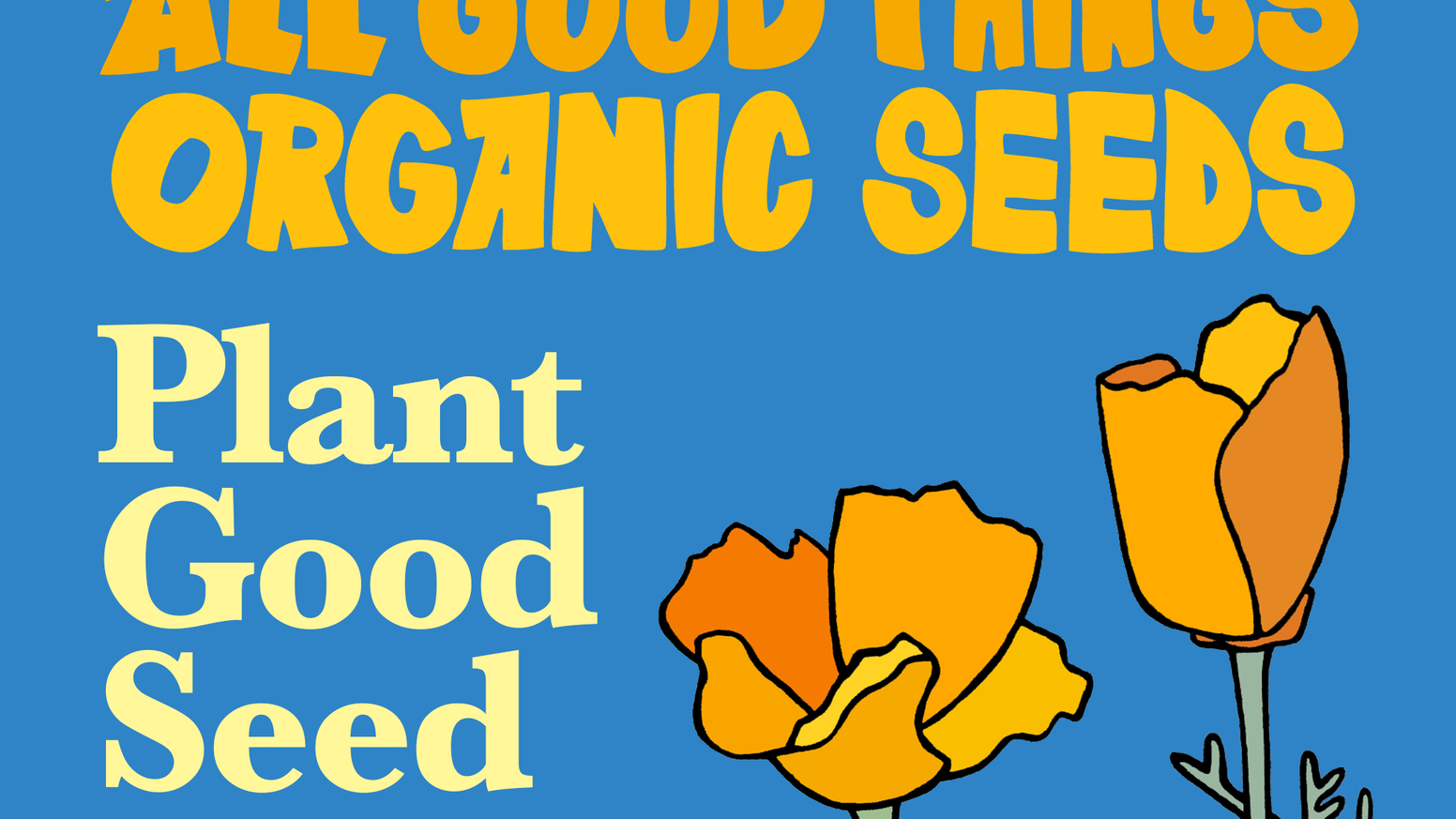 Plant Good Seed Invest In Your Future With Our Seed Company By All