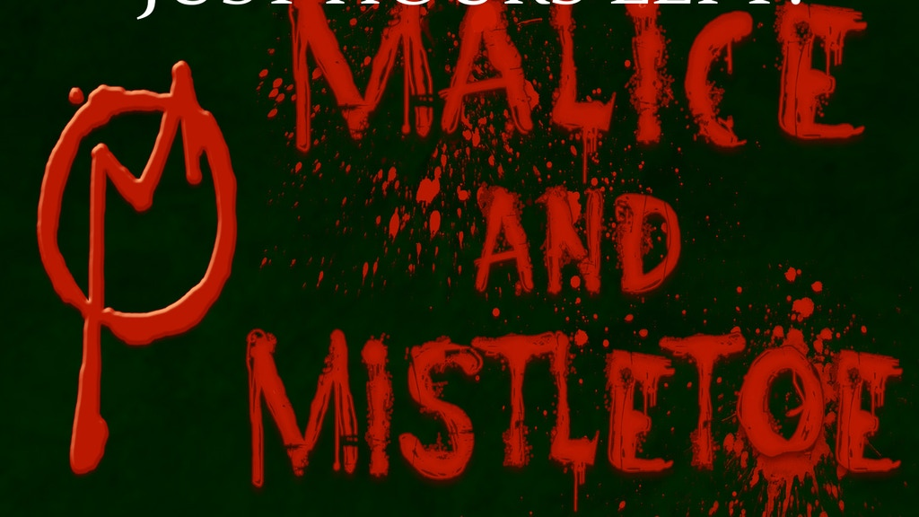 Malice And Mistletoe An Original Graphic Novel By Nathan Graham