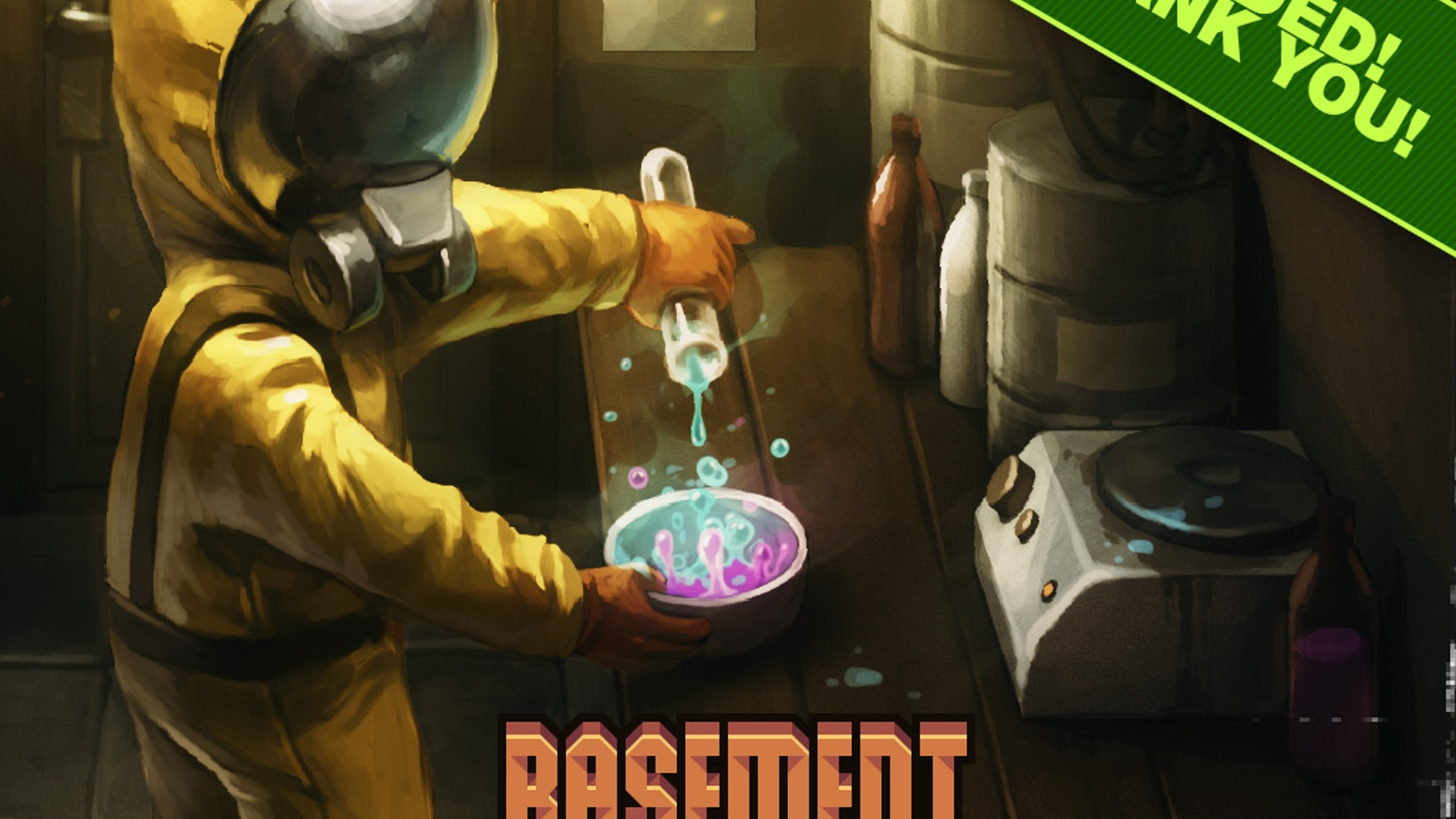 Basement is a drug-dealing strategy game.