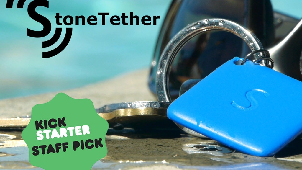 StoneTether - The Smallest Tracking Device at Long Range project video thumbnail