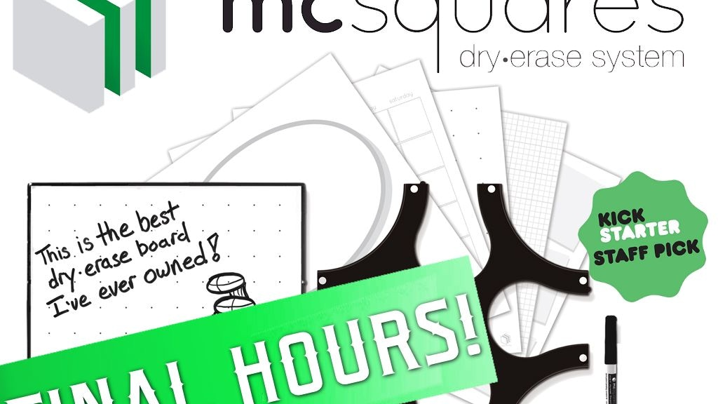 mc squares: a dry-erase system for creative spaces project video thumbnail