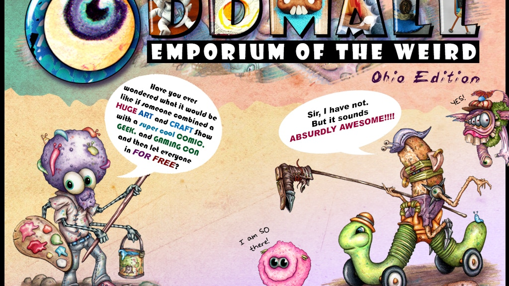 Oddmall: Emporium of the Weird (Ohio Edition) project video thumbnail