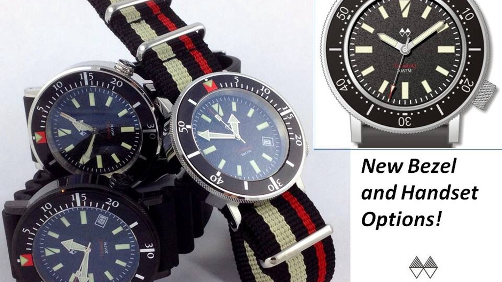 Project image for A High End Dive Watch With 48 Possible Custom Variations