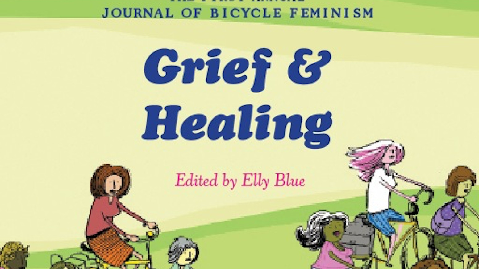 Cycletherapy is about grief, loss, healing, joy... and bikes. The book is available now from Microcosm.