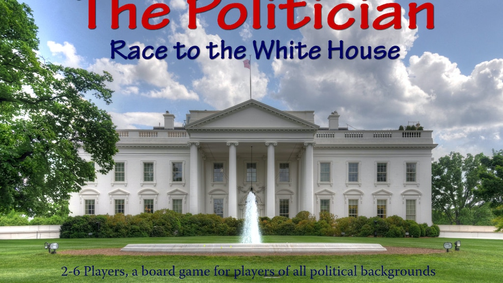 "Project image for ""The Politician"" - A Board Game of Politics"
