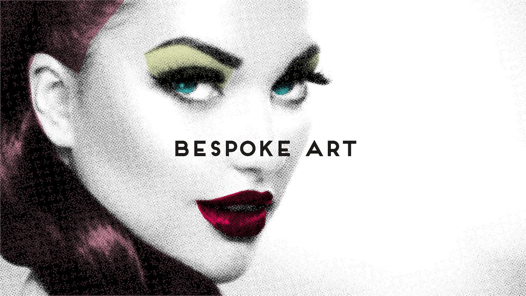 Art & Hue | Graphic Pop Art | Bespoke & Custom Art project video thumbnail