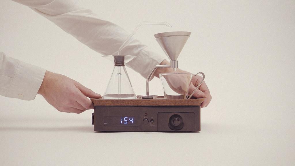 The Barisieur: Designer Coffee & Tea Alarm Clock project video thumbnail