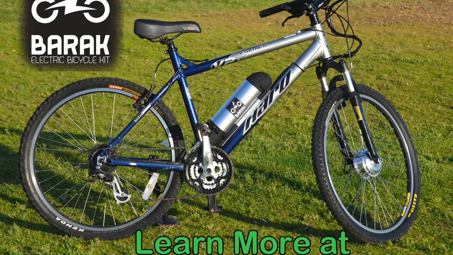 Barak Electric Bicycle Conversion Kit - Electrify Your Bike