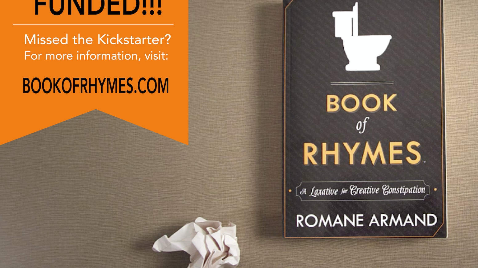 book of rhymes by romane armand kickstarter