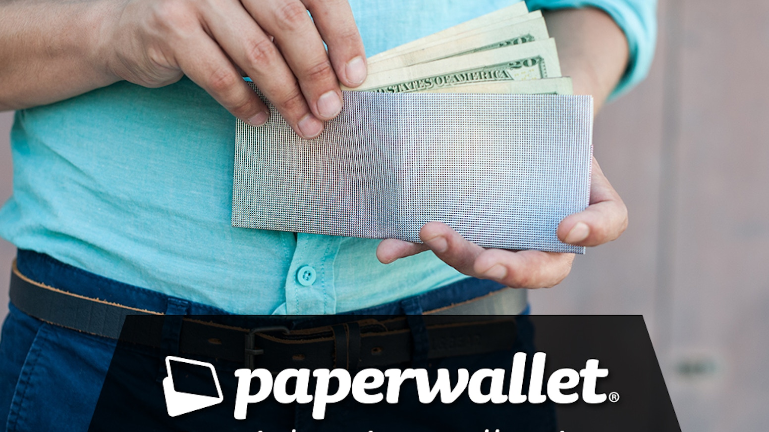 Paperwallet - A super thin tyvek wallet designed by artists by Elad ...