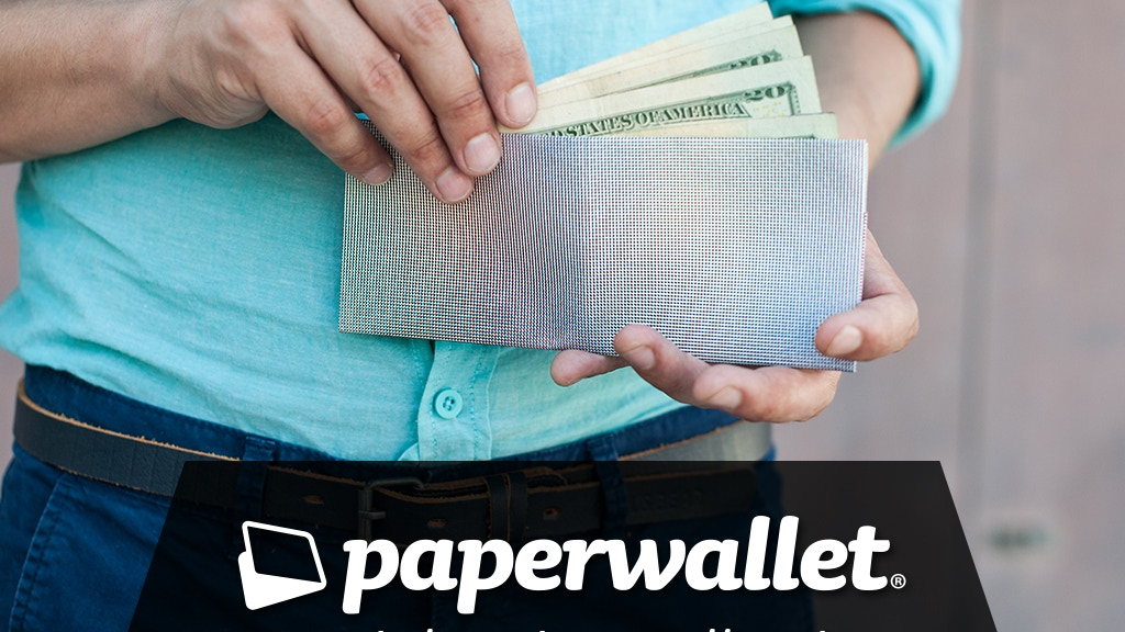 Paperwallet - A super thin tyvek wallet designed by artists project video thumbnail