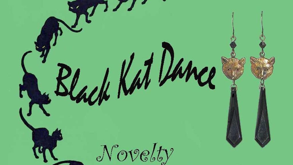 BLACK CAT DANCE~~ Novelty Retro Jewelry project video thumbnail
