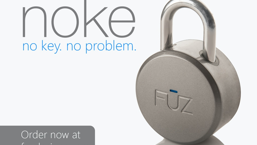 Noke: The World's First Bluetooth Padlock project video thumbnail