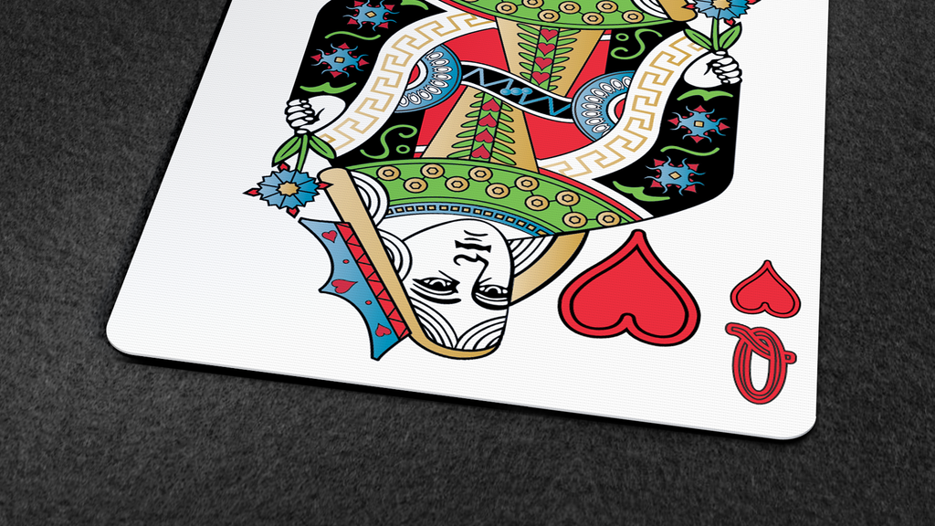 Project image for Rainbow Illusion Playing Cards Printed By Legends