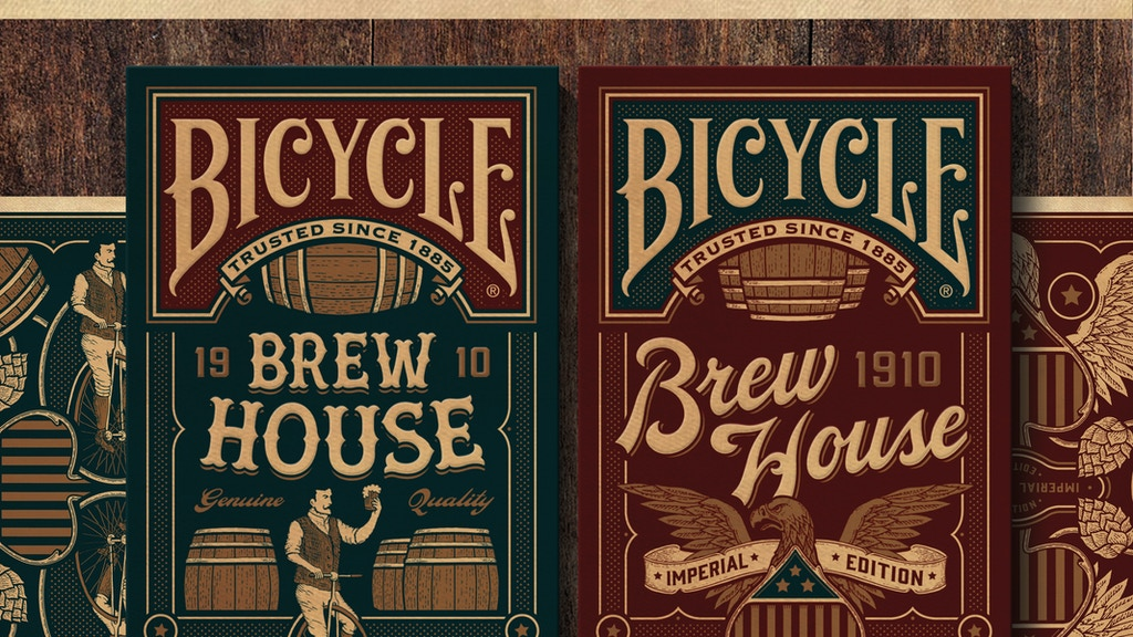 Project image for 1910 Brew House: A 1900s Beer Inspired Playing Card Deck