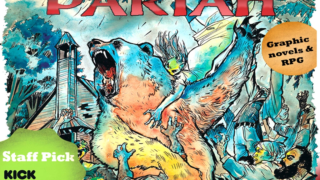 Pariah Missouri Vol 1 & 2 Hardcovers and RPG book project video thumbnail