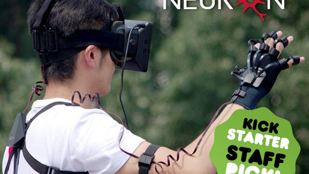 Project PERCEPTION NEURON:  Motion Capture, VR and VFX project video thumbnail