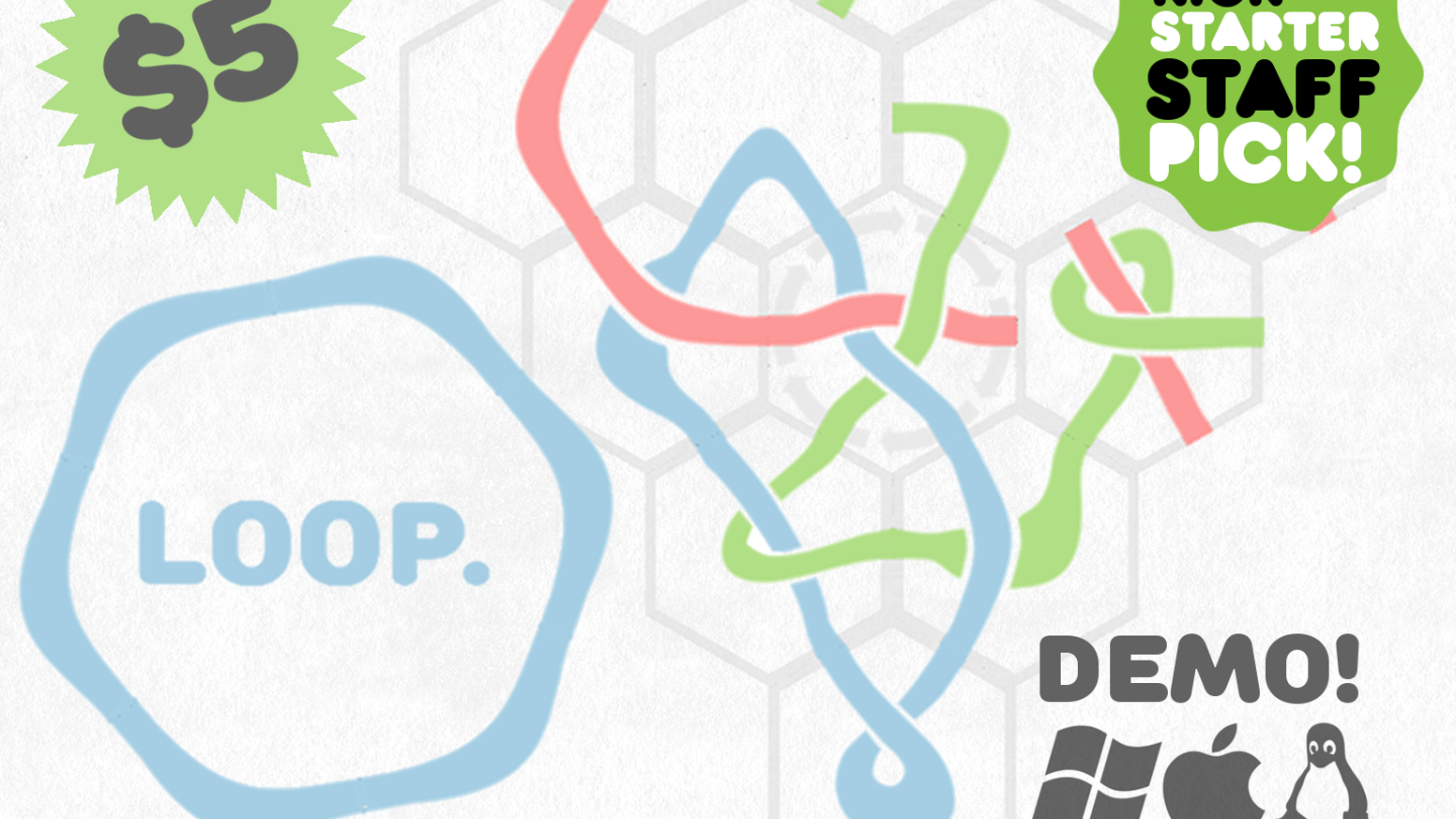 LOOP is a tranquil puzzle game for PC, Mac & Linux. DEMO AVAILABLE!