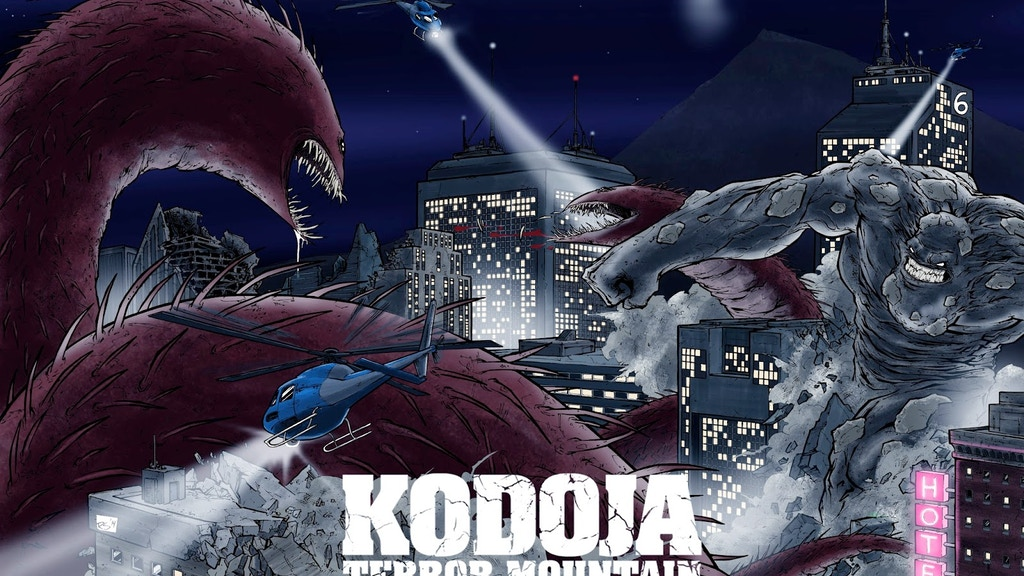 Kodoja: A Kaiju Graphic Novel with a Soundtrack project video thumbnail