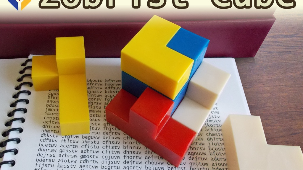 Zobrist Cube: Game for the Brain! project video thumbnail