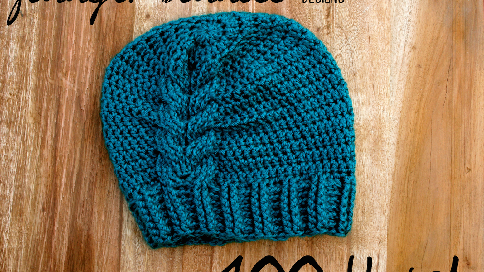 99e9b1e9f 100 Crocheted Hats by Jennifer Bennett — Kickstarter