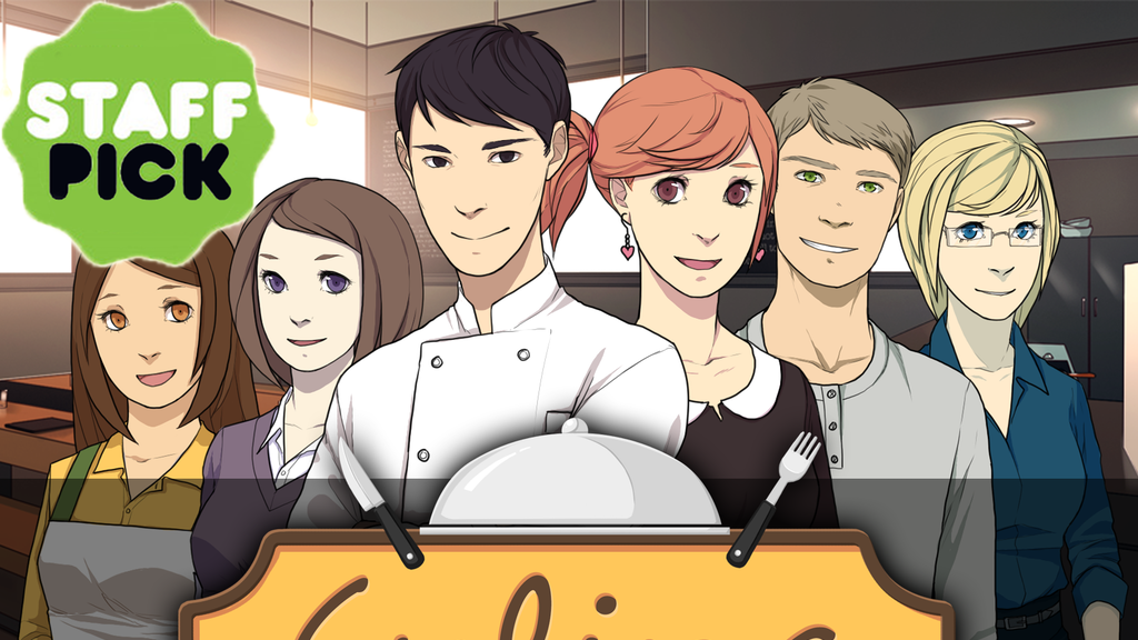 Culina: Hands in the Kitchen - Visual Novel/ Restaurant Sim project video thumbnail