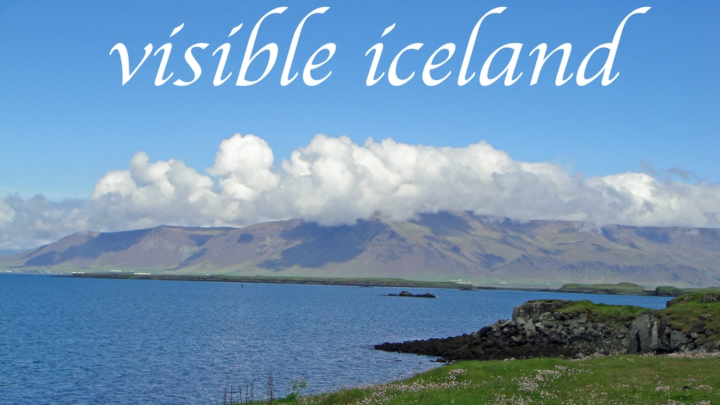 Visible Iceland: A Photographic Journey project video thumbnail